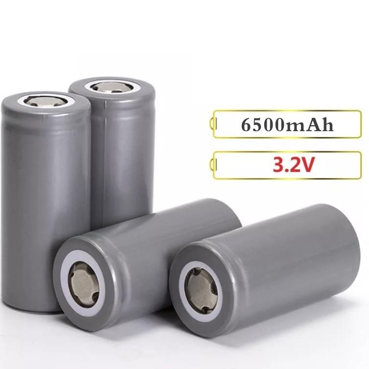4pcs/lot 5C 5000mAh/6500mah 32650 Battery 3.2V Li-Iron Phosphate Rechargeable Battery E-bike Electronic cigarette Batteries