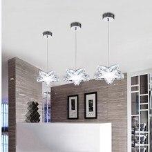 Скандинавская Люстра хрустальная люстра освещение абажур для гостиной подвесное освещение светильники Lamparas Colgantes Lustre
