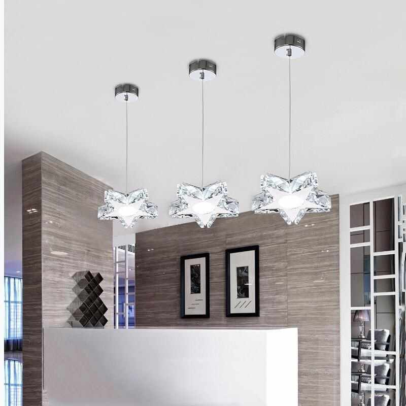 Nordic Chandelier Crystal chandelier lighting Lampshade For Living Room Suspendsion Lighting Fixtures Lamparas Colgantes  Lustre