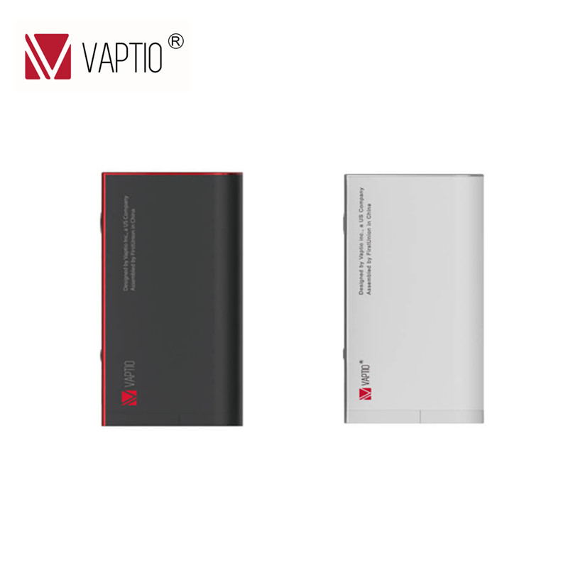 150 w Box Mod Sigaretta Elettronica Vaptio TC Vape mod S150 Mod 18650 batteria Sostituibile sigaretta elettronica 510 scatola di filo mod