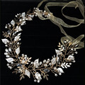elegant tiara baroque crown tiaras and crowns party bridal hair jewelry wedding accessories