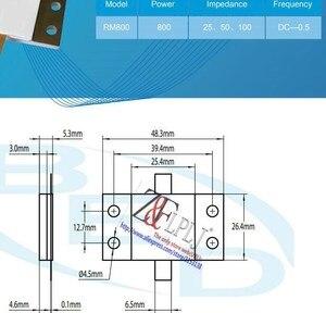 Image 2 - Micros widerstand 800 watt 100 Ohm DC 0.5 GHZ/800 W 100 R RM800 100 800 Watt dummy last widerstand Neue Original 1 teile/los