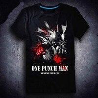New One Punch Man T shirt Anime Saitama men t shirt Cotton Summer Short sleeve Tees tops