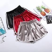 PADEGAO Summer 2019 New Shorts Women Elastic Waist Sweatpants Street Fashion Loose Short Pants Leisure Sports Running Shorts цена и фото