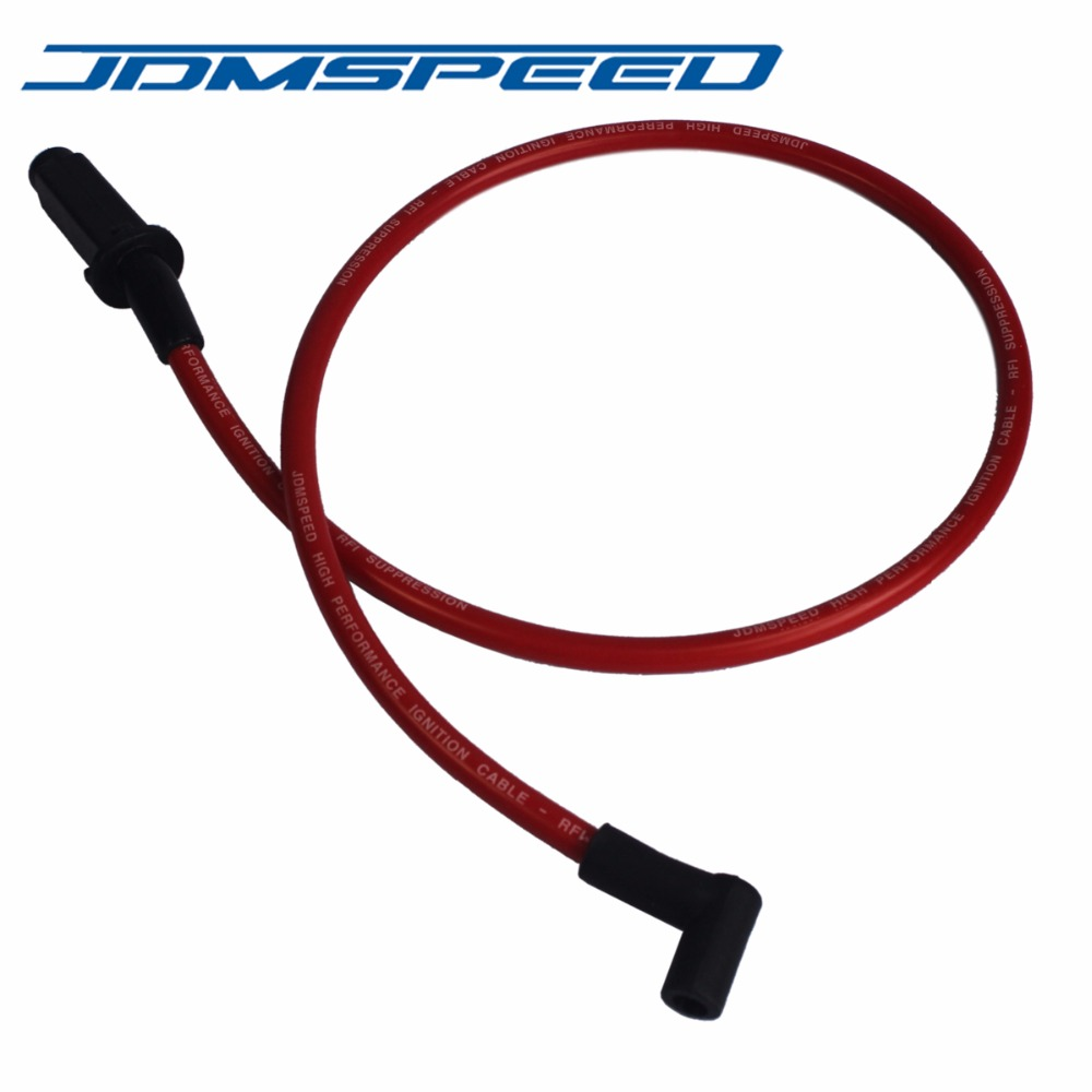 Performance Red 10.5mm Ignition Spark Plug Wires 3800 Series II L67 For Chevy