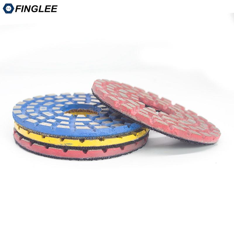 FINGLEE 3 colių / 4 colių metalinių obligacijų granito poliravimo - Elektriniai įrankiai - Nuotrauka 5