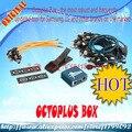 Octoplus caja original con 22 unids cables trabajan para samsung y para lg + medua jtag activación + envío gratuito