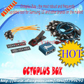 Trabalho original octoplus box com 22 pcs cabos para samsung e para lg + medua jtag + frete grátis