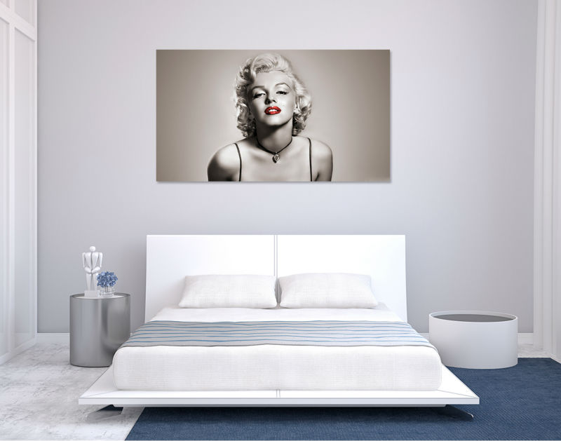 Aliexpress.com : Buy Hot Modern Living Room Bedroom Home Decor Movie Star  Sexy Marilyn Monroe Wall Art Picture Printed Painting On Canvas Art Prints  From ... Part 73