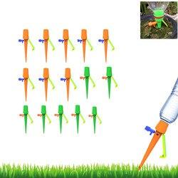 Automatyczne nawadnianie kroplowe system nawadniania automatyczne nawadnianie Spike dla roślin kwiat kryty gospodarstwa domowego Waterers butelka nawadniania kropelkowego