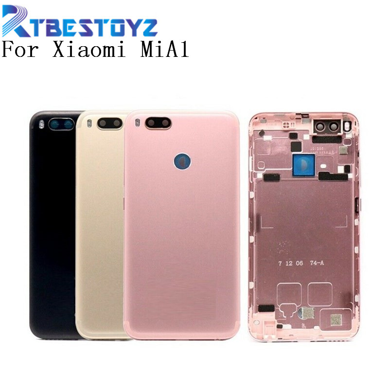 <font><b>Battery</b></font> Door 5.5'' Back <font><b>Cover</b></font> Housing Case With Power Volume Buttons For <font><b>Xiaomi</b></font> MiA1 <font><b>Mi</b></font> A1 <font><b>5X</b></font> image