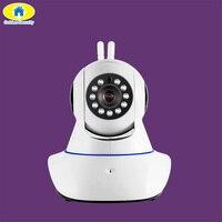 Altın Güvenlik Çift Anten Güvenlik Kamera Kablosuz WIFI 720 P HD Dijital Güvenlik CCTV Kamera Sistemleri Hareket Sensörü Alarm