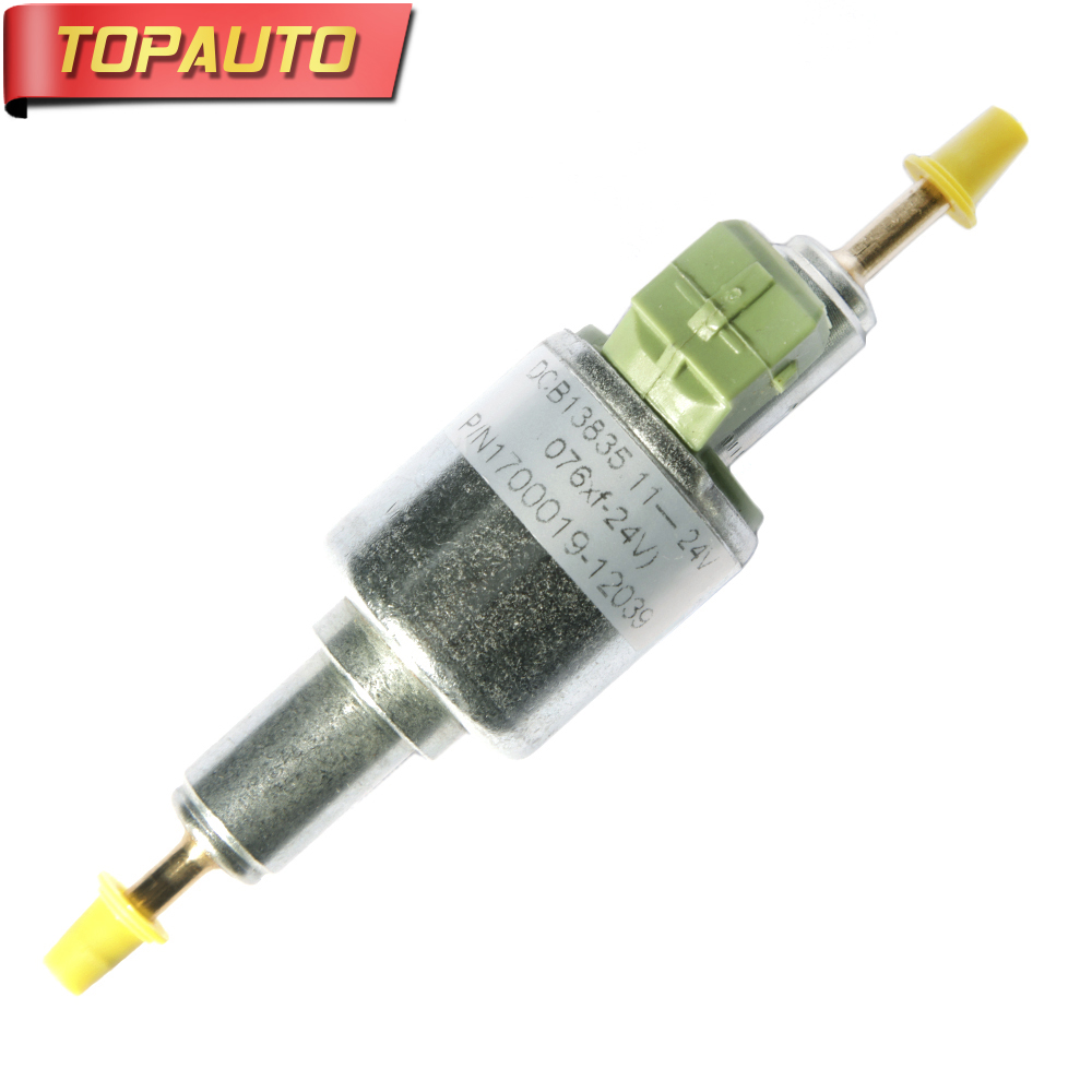 TopAuto 12v 24v 22ml Fuel Dosing Pump Electronic Pulse Metering Pump For Webasto Car Air Diesel Parking Heater For Truck electronic fuel pump hep 02a 12v 24v car modification gas diesel low pressure petrol for motorcycle toyota ford yanmar nissan