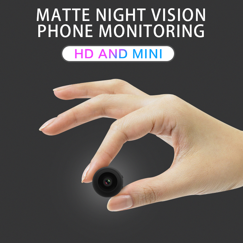 Mini caméra WiFi sans fil 1080P caméra HD ip moniteur à distance caméra de sécurité détection de mouvement Vision nocturne caméscope à domicile caméra IP