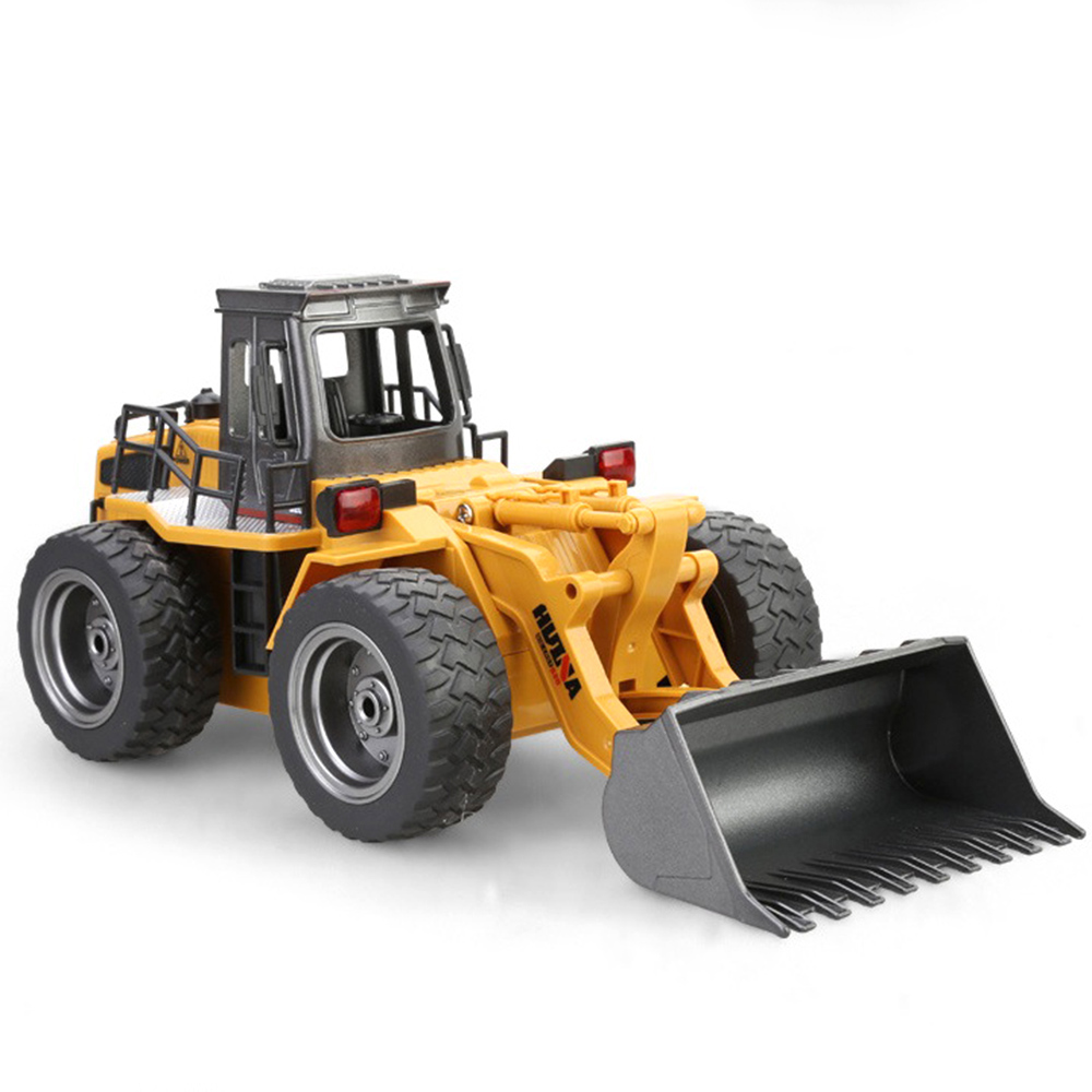 Bulldozer 2.4G 6-Channels 1:18 RC Car Remote Control Toy Car Kid Gifts HuiNa 1520 Cars On The Remote Control