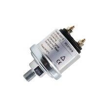 Sensor de presión de aceite de motor con rango de medición 0 ~ 5 Bar /0 ~ 10 Bar apto para coche barco, indicador de presión de aceite emisor M10 y NPT 1/8