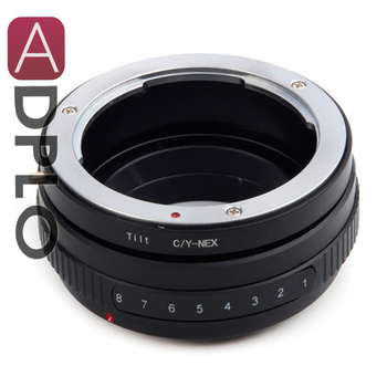 ADPLO 010295, Tilt Lens Mount Adapter Suit For Contax CY Lens to Suit for Sony E Mount NEX Camera A5100 A6000 A5000 A3000