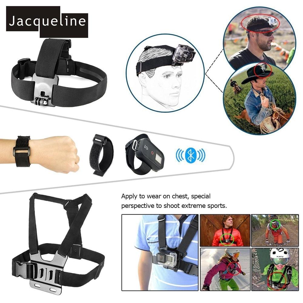 Jacqueline për Aksesorë Kuti Set Qese për Gopro HERO 6 5 3+ 4 - Kamera dhe foto - Foto 2