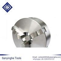 De alta precisión de sanyinghe 1 piezas de torno chuck tres la mandíbula centrado chuck K11 160 Herramientas cnc|Fresa| |  -