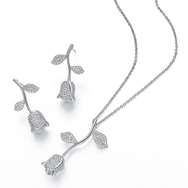 Hadiyana Jewelry Rose...