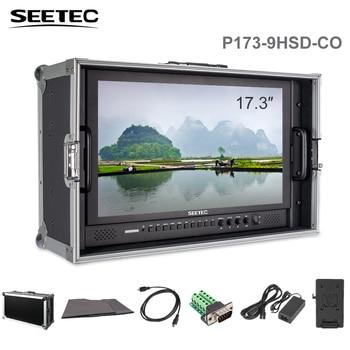 """SEETEC P173-9HSD-CO 17,3 """"en transmisión Director Monitor 4K HDMI 3G SDI YPbPr Video de entrada de Audio HD 1920x1080 pantalla"""