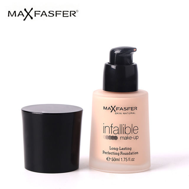 ca00a0ba58480 MAXFASFER Brighten Liquid Foundation For Face Easy To Wear Full Cover  Concealer Natural Long-lasting
