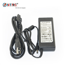 HTRC 15V 6A AC Adapter Power supply for RC Balance Charger 80W B6 V2 Imax B6 ( 12V 5A AC to DC adapter optional)