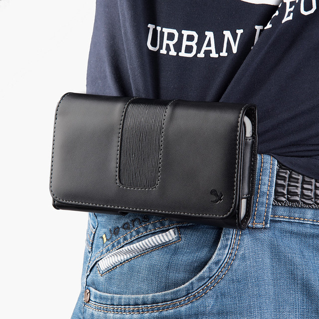 Phone Cover Belt Clip Holster Leather flip Pouch Case for iphone Samsung Huawei Xiaomi 6.3/5.5 Inch Universal Mobile Phone Bag 6