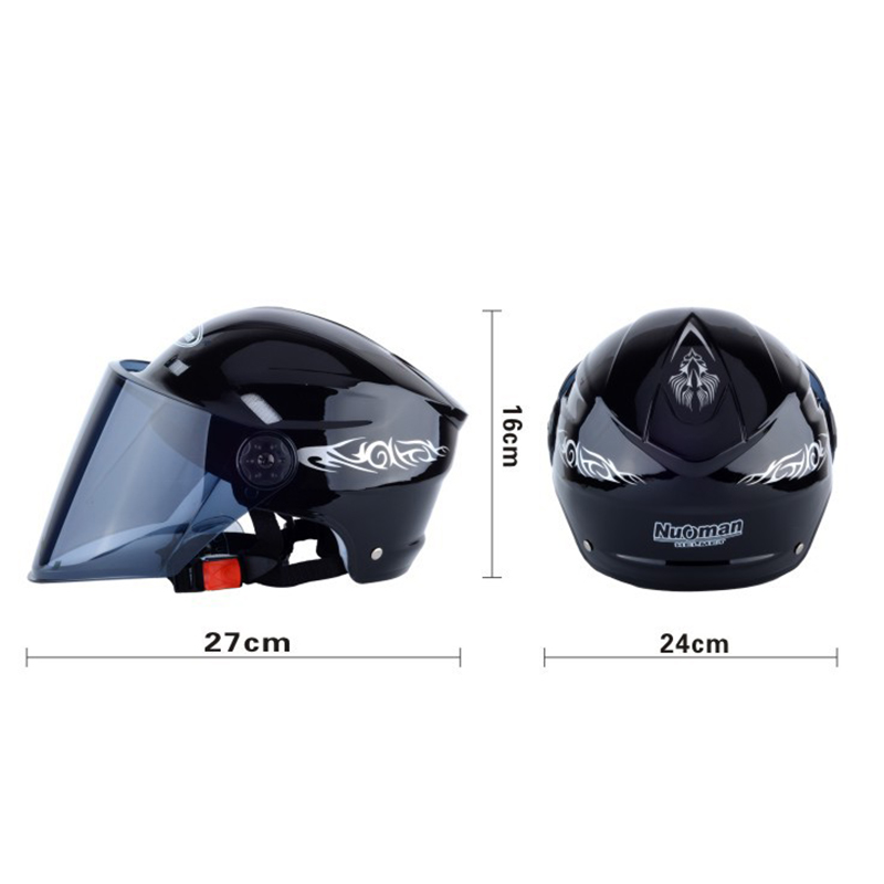 2019 Hot Motorcycle Helmet Unisex Men Women Electric Battery Helmet Summer Riding Safety Helmets JLD in Helmets from Automobiles Motorcycles