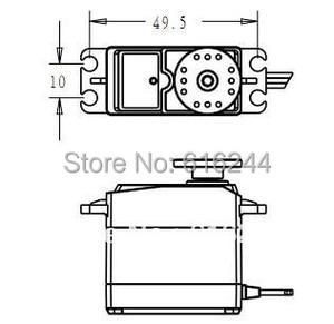 Image 3 - 2x 서보 360 연속 회전 아날로그 서보 DC 서보 모터 토크 플라스틱 기어 5.5 키로그램/센치메터 DC 4.8V 6V 스마트 카 로봇 용 DIY