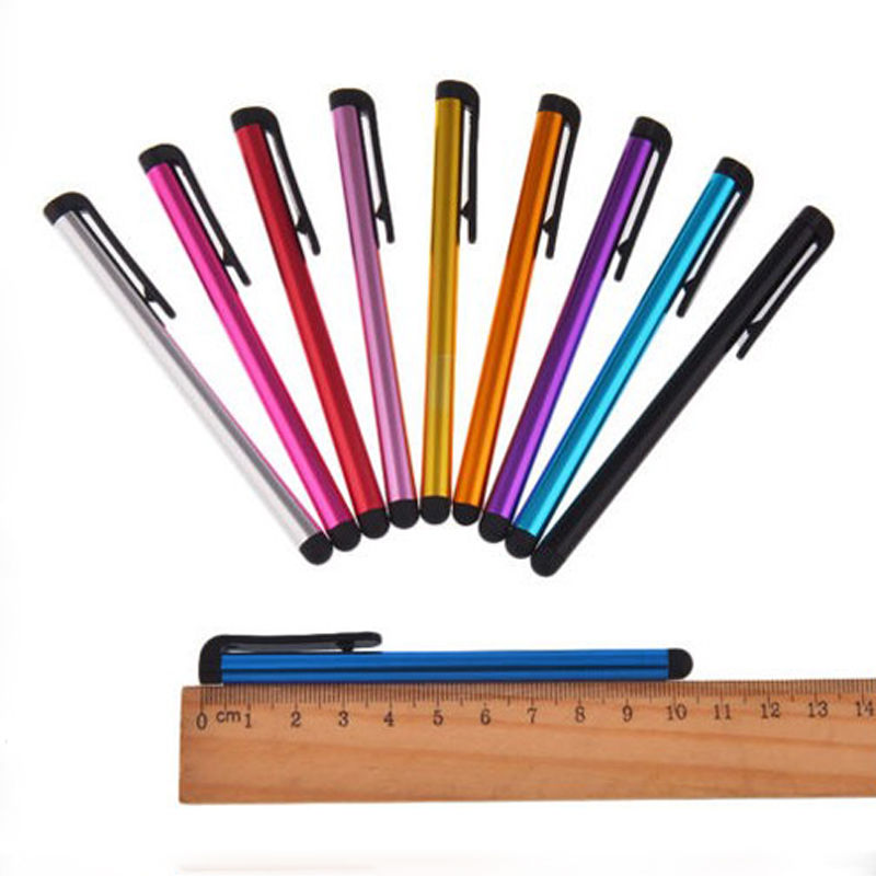 Новый 10 шт./лот металла Сенсорный экран Стилусы ручка для iphone iPad IPod Touch костюм для Универсальный смартфон Планшеты PC
