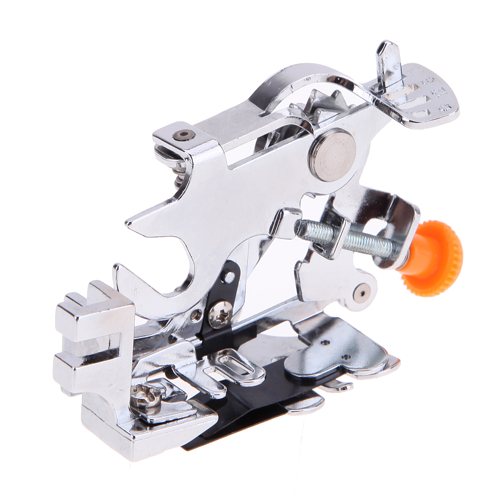 1Pc Ruffler Presser Foot Feet Attachment Sewing Machine For Flouncing And Ruffling Sewing  Suitable For Thick Fabric база под макияж isadora strobing fluid highlighter 81