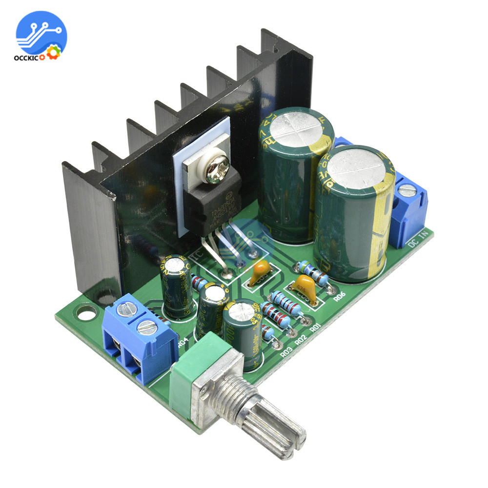 TDA2050 Mono Amplifier Board DC 12-24V 5W-120W Audio Sound Speaker Board Volume Control Car Player With Potentiometer
