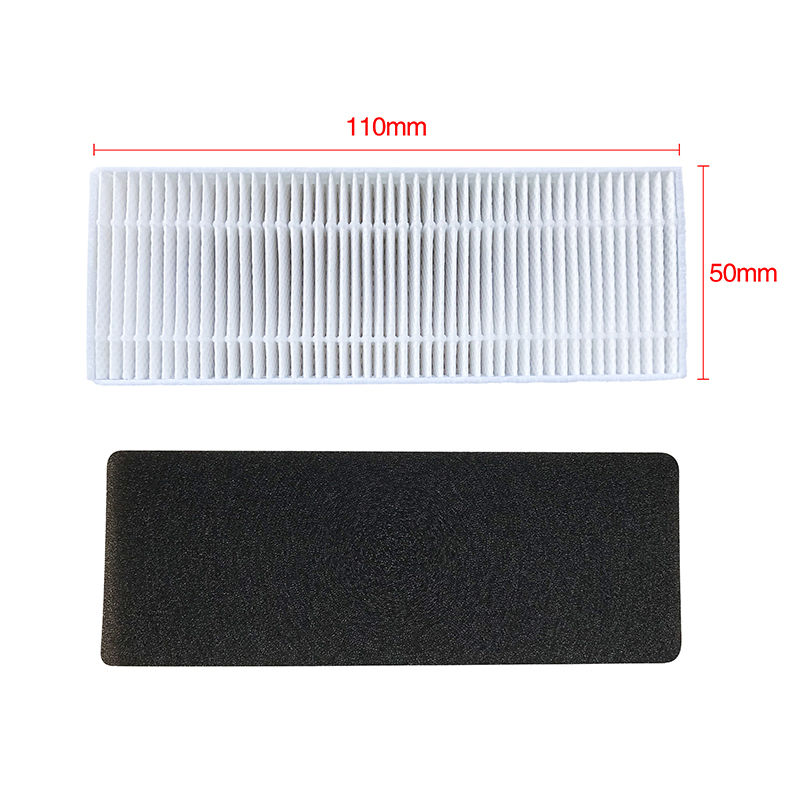 Adoolla Filter/side Brush/blue Comb For Ecovacsn79 N79s Vacuum Cleaner Accessaries Home Appliances