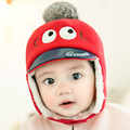2016 Winter New Baby Hats Boys Girl Cashmere Earmuffs Plus Cap Children Cute Crochet Earflap Hat