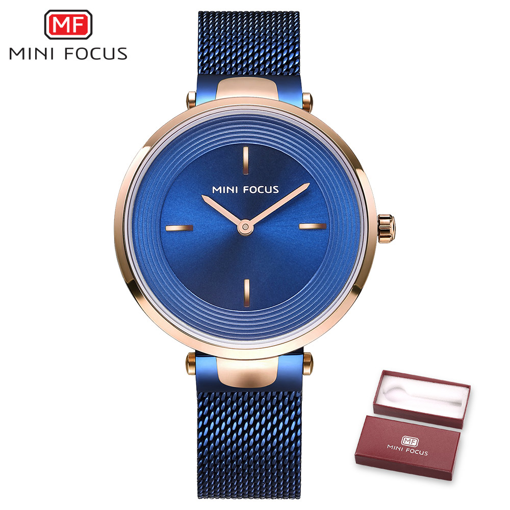 MINIFOCUS Luxury Fashion Quartz Watch Women Dress Bracelet Ladies Watches Elegant Casual Full Steel relogio feminino reloj mujer relogio feminino luxury brand casual dress watches quartz gold watch women fashion steel crystal ladies watch reloj mujer