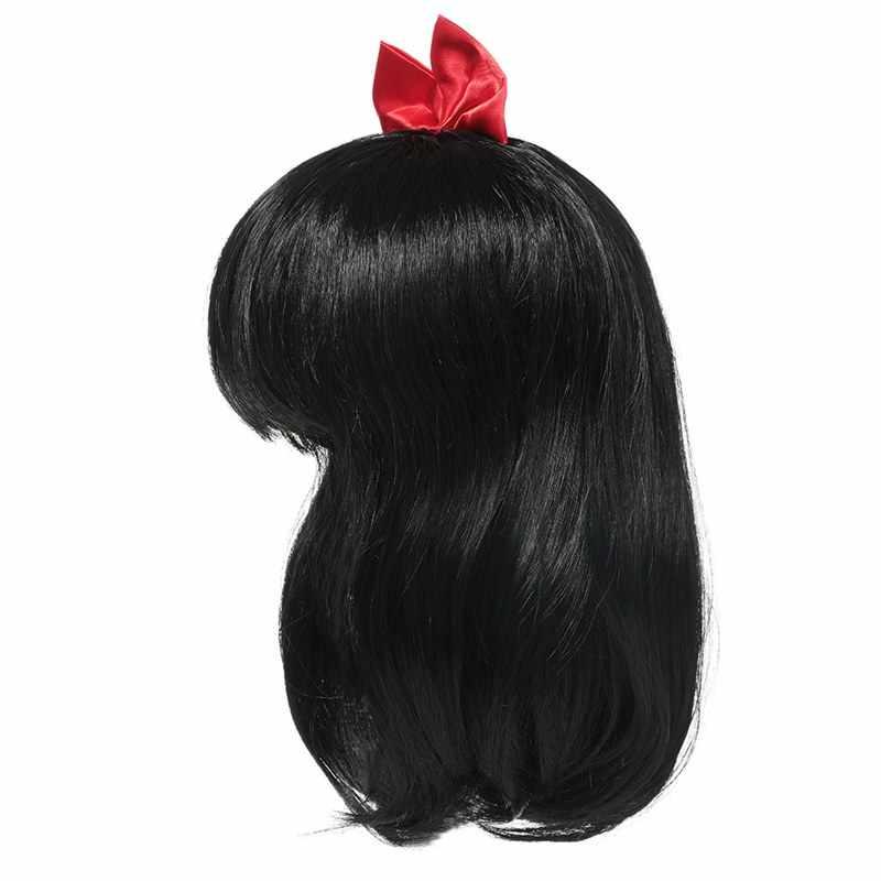 Muababy парик для девочек детская принцесса косплей вечерние аксессуары Эльза Анна Аврора Белль оплетка Русалка Жасмин Моана Рапунцель волосы