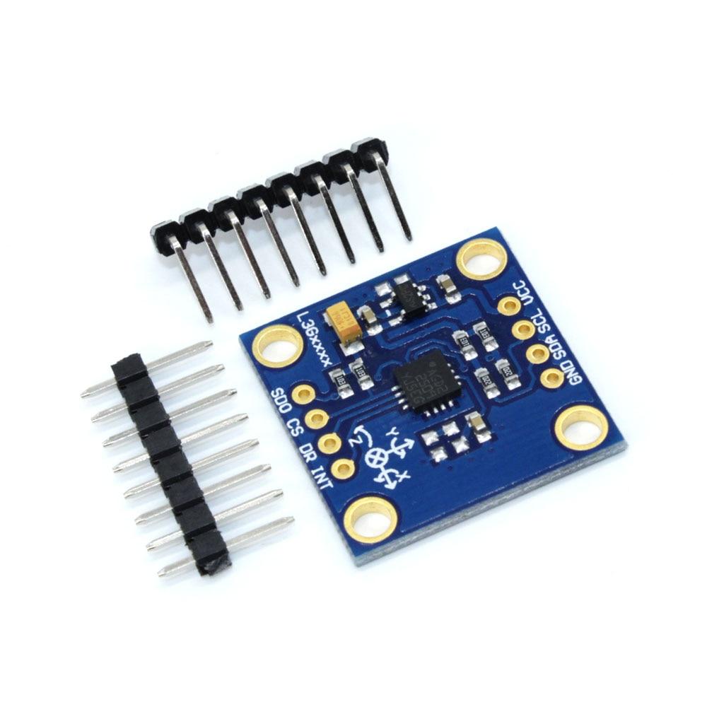 5PCS GY-50 L3G4200D 3 Axis Digital Gyroscope Sensor Module Angular Velocity Module