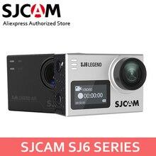 SJCAM SJ6 Legend& SJ6 Legend Air 4 K 24FPS Удаленная Экшн-камера водонепроницаемая Спортивная DV 2,0 сенсорная камера на шлем w/аксессуары