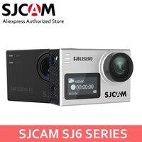 SJCAM SJ6 Legend & SJ6 Легенда Air 4 К 24FPS Дистанционное Действие Cam Водонепроницаемый Спорт DV 2,0 Сенсорный экран Шлем видеокамера w/аксессуары