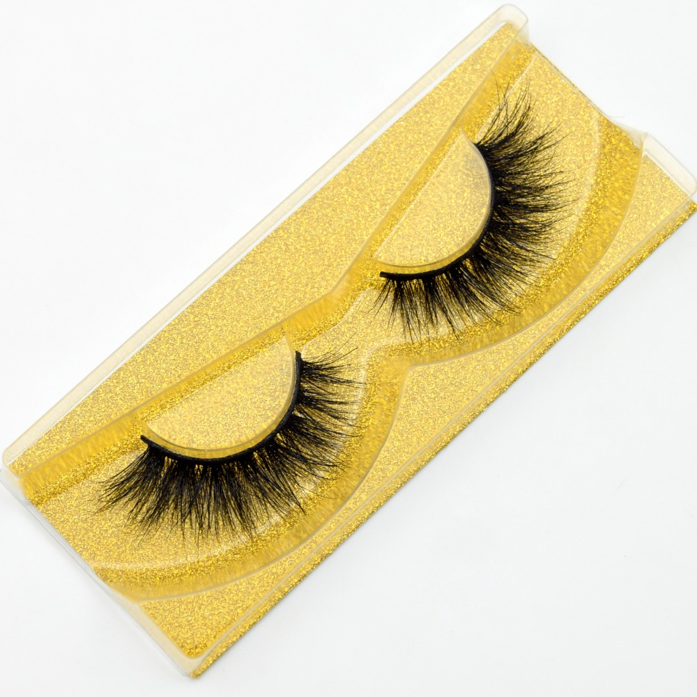 64ead943619 1 Pair Lashes with Gold glitter packaging. Visofree Thick Eyes Lashes Hand  Make Fake Eyelashes Dramatic Volume False-eyelashes 3D Lashes Cilios Mink  ...