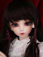 Полный набор парик одежда обувь лица макияж и глаза все включено! малыш Delf киви наивысшего качества 1/4 bjd куклы девушки Симпатичные art лучшие