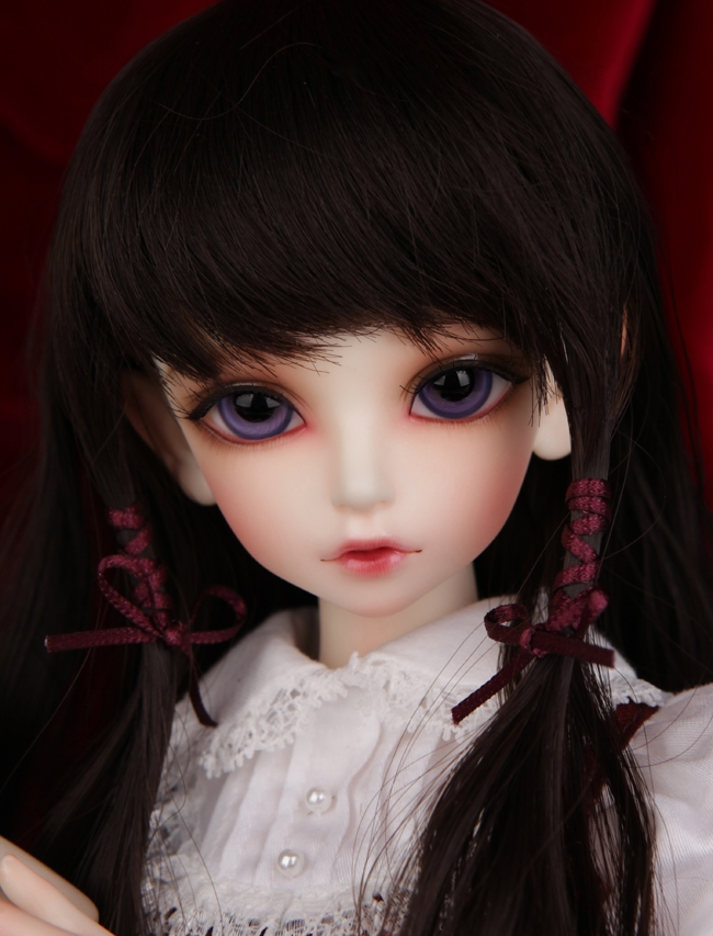 FULL SET Kid Delf KIWI top quality 1/4 bjd girl doll naked doll cute art best gifts manikin model