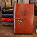 Винтажный пустый дневник PHANTACI  кожаный чехол для записной книжки  книга для записей пиратов  сменный блокнот для путешествий  канцелярские ...