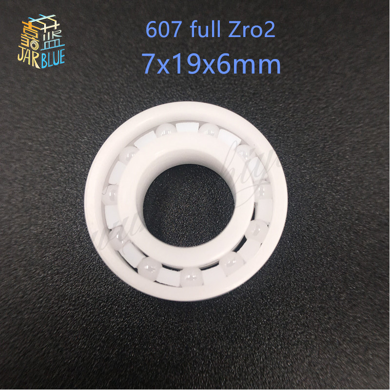 Free shipping 607 full ZrO2 ceramic deep groove ball bearing 7x19x6mm P5 ABEC5 free shipping 605 full zro2 ceramic deep groove ball bearing 5x14x5mm good quality p5 abec5