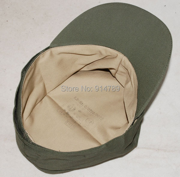 WWII GERMAN ARMY EM SUMMER PANZER M43 FIELD COTTON CAP L-32512