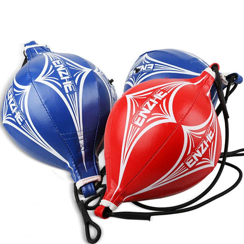 Dewasa Tinju Profesional Bola Kecepatan Tinju Boxing Gantung Bola Pear Kecepatan Bola Bola Tumbler Segera Membangun Blokade Kantung Tinju Meninju Tas Meninju