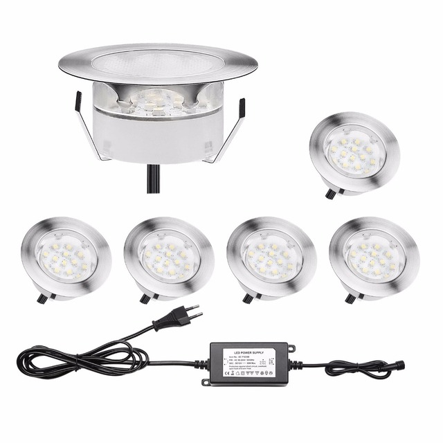 Sturdy Waterproof Best Outdoor Lights For Patio Recessed Led Deck Lighting  Floor Lamp Design Step Room