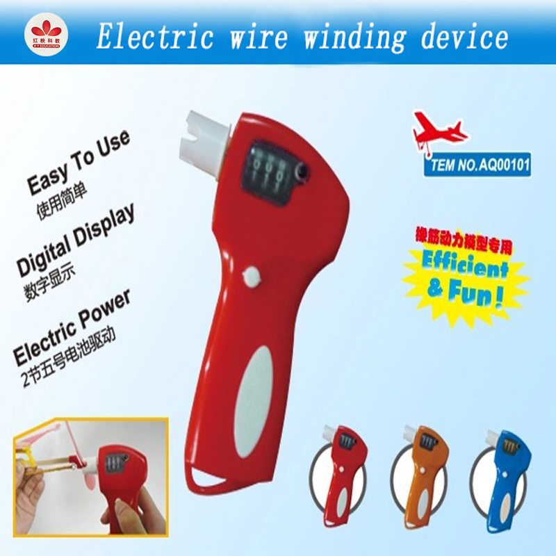 Woodpecker Electric Rubber Band Model Winder Digital Display Easy To Use