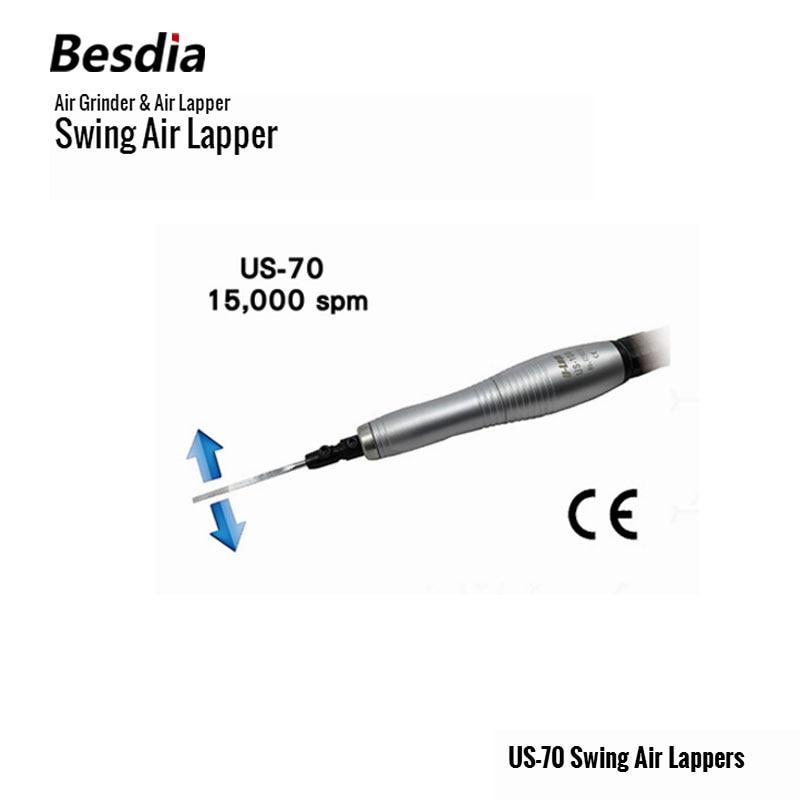 Tajvan Besdia Air Grinder & Air Lapper US-70 Swing Air Lappers - Elektromos kéziszerszámok - Fénykép 1